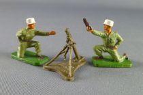 Starlux 30mm (1/55°) - Army - Legion fighting Mortar & crew (ref 1402 1186 1187)