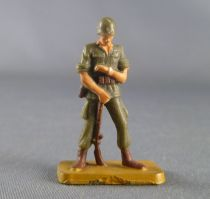 Starlux 30mm (1/55°) - Army - Modern army - Fighting watching clock (ref M1 sand base)