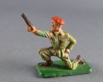Starlux 30mm (1/55°) - Army - Paratrooper fighting mortar servant (ref 1165 )