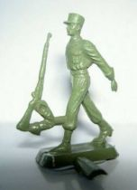 Starlux 35mm (1/50°) - Army - Legion marching rifle on shoulder (unpainted) (ref MLM 88)