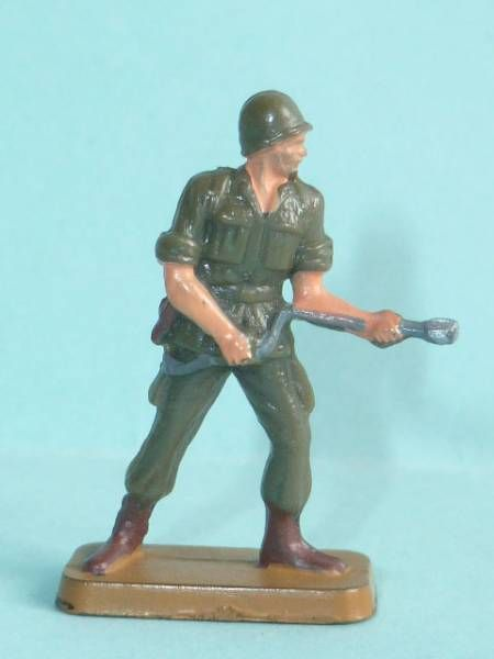 Starlux 35mm (1/50°) - Army - Modern army - Fighting flamme thrower (ref M5)