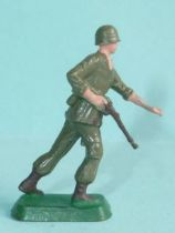 Starlux 35mm (1/50°) - Army - Modern army - Fighting rifle on right (ref M8)
