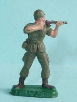 Starlux 35mm (1/50°) - Army - Modern army - Fighting standing firing rifle (ref M4)