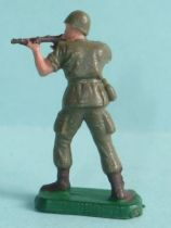 Starlux 35mm (1/50°) - Army - Modern army - Fighting standing firing rifle (ref M4)