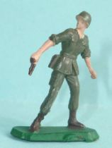 Starlux 35mm (1/50°) - Army - Modern army - Fighting standing pistol (ref M12)