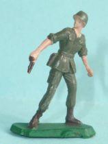 Starlux 35mm (1/50°) - Army - Modern army - Fighting standing pistol (ref M12)
