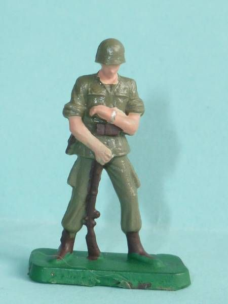 Starlux 35mm (1/50°) - Army - Modern army - Fighting watching clock (ref M1)
