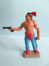 Starlux 35mm (1/50°) - Wild West Indians- Firing pistol standing (ref MIS 15)