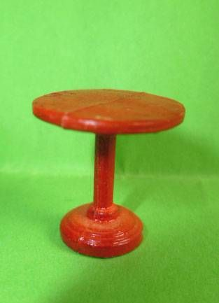 Starlux 40mm - Train station - Table (red) (ref G31 /  FT5237)
