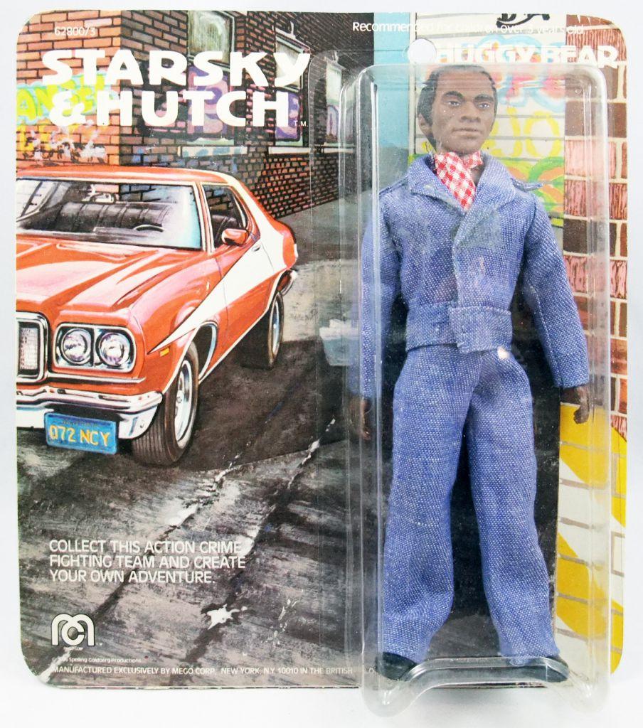 """Starsky & Hutch - 8\"""" Mego figures - Huggy Bear (mint on card)"""