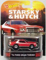 Starsky & Hutch - Hot Wheels - Mattel - \'76 Ford Gran Torino