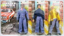 Starsky & Hutch - Set de 3 Figurines 20cm Mego : Starsky, Hutch, Huggy (neuves sous blister)