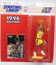 Starting Lineup - Basket Ball - 1996 Los Angeles Lakers Eddie Jones
