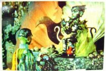 Stingray - Bloomsberry Books Postal Card - Lord Titan and slave