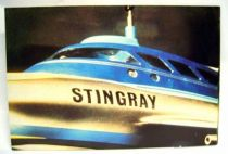 Stingray - Bloomsberry Books Postal Card - Stingray craft