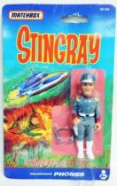 Stingray - Matchbox - Lieutenant \'\'Phones\'\' (mint on card)