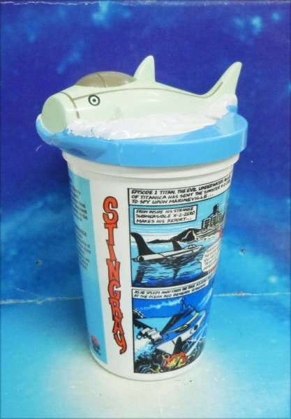 Stingray - Pizza Hut Collectible Plastic Cups - Submersible X-2-Zero