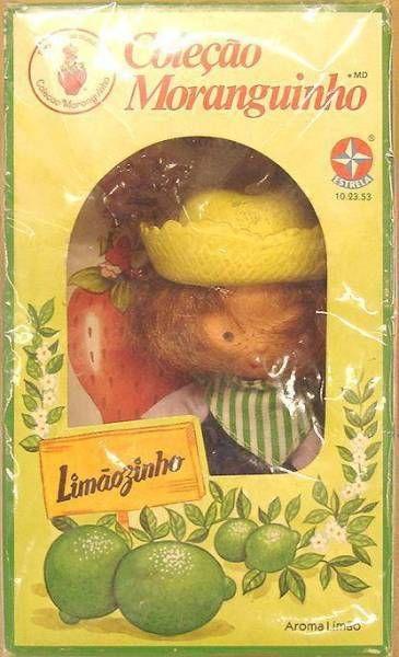 Strawberry Shortcake - Limàozinho - Estrella Brasil