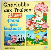 Strawberry Shortcake - Mini-LP Record - Strawberry Shortcake sings When we\'re lucky - AB Productions 1984