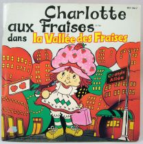 """Strawberry Shortcake - Mini-LP Record-book - \""""In Strawberry Valley\"""" - AB Productions 1984"""