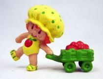 Charlotte aux fraises - Miniatures - Chausson aux Pommes tirant une charette (loose)
