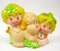 Strawberry shortcake - Miniatures - Lem & Ada with Sugar Woofer (loose)