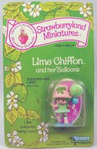 Strawberry shortcake - Miniatures - Lime Chiffon with her balloons