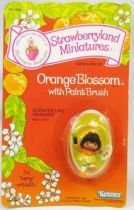Strawberry shortcake - Miniatures - Orange Blossom with paint brush