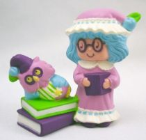 Charlotte aux fraises - Miniatures - Plum Puddin\' fait la lecture à Baie de Sureau (loose)