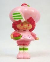 Charlotte aux fraises - Miniatures - Mousse Framboise et son bol de fruits (loose)