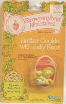 Strawberry shortcake - Pvc figure (Mint on card) - Butter Cookie with Jelly Bear