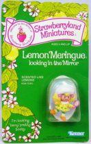 Strawberry shortcake - Pvc figure (Mint on carde) - Lemon Meringue looking in the mirror