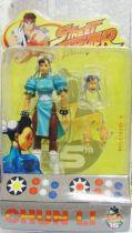 Street Fighter - SOTA Toys - Chun Li (light blue outfit variant)