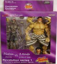 Street Fighter - SOTA Toys - Dhalsim & E. Honda - SDCC \'08 Exclusive
