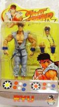 Street Fighter - SOTA Toys - Ryu (grey outfit variant)