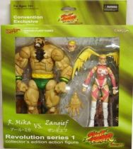 Street Fighter - SOTA Toys - Zangief & R. Mika - SDCC \'08 Exclusive