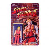 Street Fighter II - Super7 - Figurine Re-Action Ken