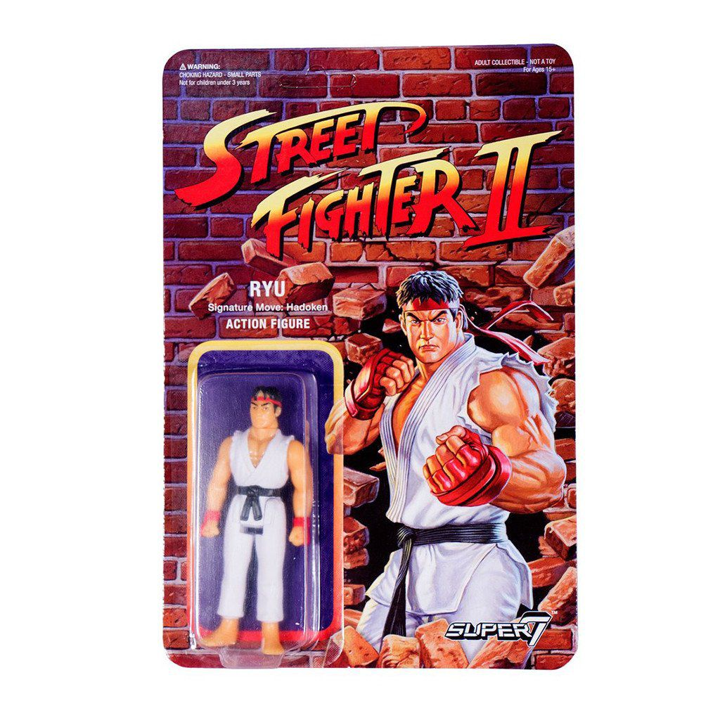 Street Fighter Ii Super7 Re Action Figure Ryu