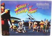 Street Fighter II Turbo - Capcom official Shitajiki