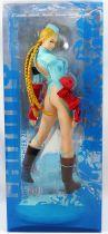 Street Fighter Zero 3 - Statue vinyl 26cm - Cammy (costume bleu) - Kaiyodo