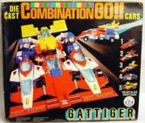 Supercar Gattiger - DX Combination Go!! gift set - Takatoku Brabo