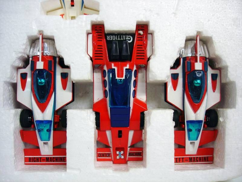 Supercar Gattiger - DX Combination Go!! gift-set - Takatoku Brabo