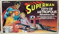 Superman - Corgi Juniors ref. 3040 - City of Metropolis Adventure Set