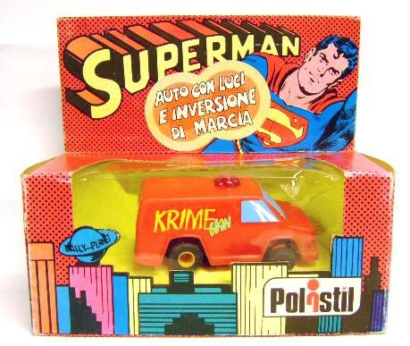 Superman - Polistil ref. DN 776 - Krime Van (Mint on Card)