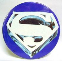 Superman (movie) - 1978 vintage botton - Superman Logo