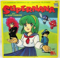 Supernana - Disque 45Tours - Bande Originale Série Tv - Disques Ades 1989