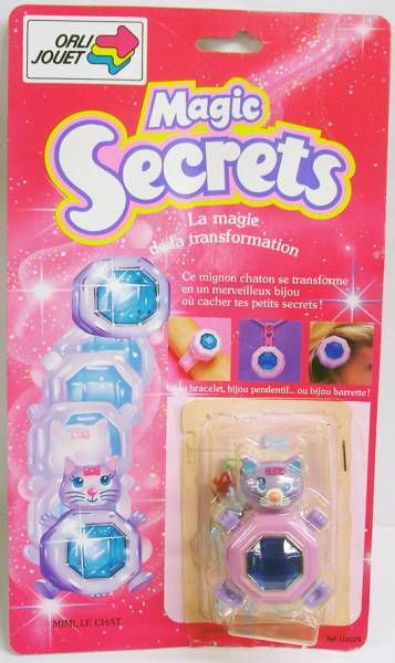 Sweet Secrets - Mimi the cat - Galoob Orli Jouet
