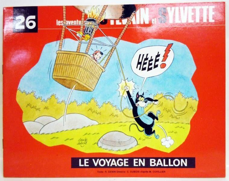 Sylvain & Sylvette\\\'s adventures - Fleurius Editons - #26 The balloon trip