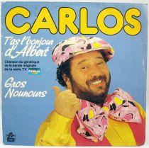 T\'as l\'bonjour d\'Albert - Disque 45Tours - Bande Originale Série Tv - Disques Ades 1985