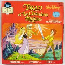 Taram et Le Chaudron Magique - Disque histoire racontée 33T - Disque Ades 1985
